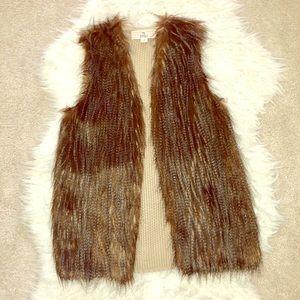 Cute fur vest